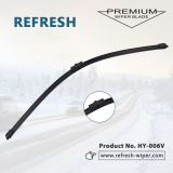 Refresh exact fit wiper blades flat windshield front &rear car wiper blades wind