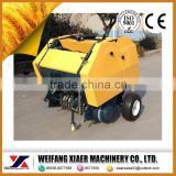 For mini tractor 25-80 hp Widely used for grass and straw / with 4 wheel tractor small bale hay baler /mini round hay baler