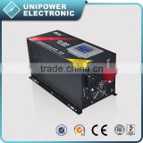 4000W Combined Charger Inverter Pure Sine Wave CPU LCD Remote Control 12/24/48V Converter