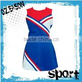 High quality and low price custom made cheerleding costumes / cheerleading jersey