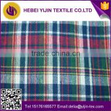 wholesale 100% cotton yarn dyed fabric for men's shorts shirt yarn dyed fabric