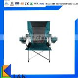 Deluxe camping outdoor chair/ foldable chair/fishing chair