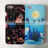 Factory Water Transfer Printing Cases for iPhone 5s 5G Case accept Custom Designs