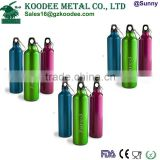 Aluminum Water Bottles/FDA passed aluminum water bottles/custom logo aluminum water bottle