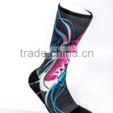 Personality Customized Sublim Printing Elite Socks for Men