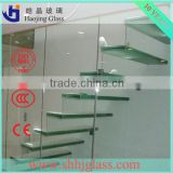 factory 12mm safety glass fencing/tempered laminated glass for pool fence/glass railing