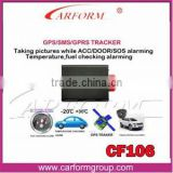 Vehicle Realtime gps tracker gt06 with fuel and temperature alarm to cut oil / power system