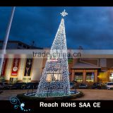 hot sale beautiful Giant Led Project Light Led Christmas Tree giant outdoor commercial lighted tree