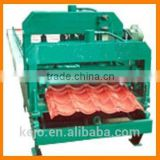 2016 High Quality Machinery Colored Metal Roof Tile Cold Roll Forming Making Machine for Steel Structure Building