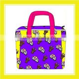 2016 Hot Sell Product Bros Bros Dream Nappy 100% Polyester Purple Nappy Bag