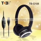 Factory direct sale Noise Cancelling Function and Wired Communication Stereo headset