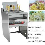 Restaurant Equipment Commercial Stainless Steel Electric Noodle Cooking Machine /Pasta Boiler/Noodle Cooker BN-6HX