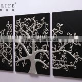 Popular Home Decorative wall decorative for tree texture painting