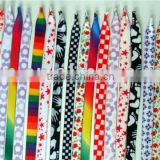all kinds of yarn dyed printed shoelace