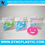 accessories vasos soap stand Smile Face round soap dish with drain                                                                                                         Supplier's Choice