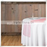 organza Party Wedding Table runner/Factory price colorful soft organza table runner /air mesh fabric for hotel runners