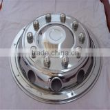 22.5 Wheel Hubcap Cover,Stainless Steel Chrome Wheel Trim for truck