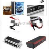 Wholesale 5 in 1 Multi-function Portable Emergency 12v AutomobileSolar Panel Mini Car Jump Starter
