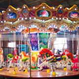 16-seat Amusement park equipment carousel