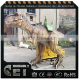 Cetnology Jurassic theme park high emulation Riding T-rex dinosaur models with ladder