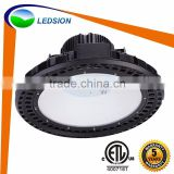 2016 hot sale Magnesium Alloy 120w 150w 120lm/w cool white ufo led highbay with low energy light bulbs