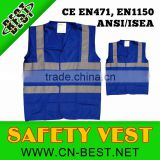 blue safety vests reflective