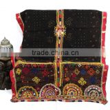 Vintage Handmade Rabari/ Kutch Woollen Throw 90 X 38 Inche Vintage Rabari Throw Gypsy Kutch Wool Throw Handmade Rabari Shawl