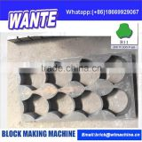 Paver molds of QT4-15 automatic block machine China manufacture