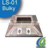 LS-01 aluminum solar road reflector,solar flashing road cat eye ,aluminumsolar road stud