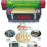 wood/acrylic/plxi glass/balsa wood,gift craft cnc laser cutting and UV printing machine ,CNC & UV Integrated machine