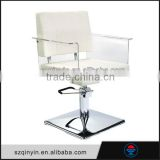 Easy up and down and 360 degree swirl hydraulic barber chair used beauty salon furniture