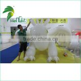 3M Long Best Quality White TPU Inflatable Toothless Dragon Animals Cartoon From Hongyi Toy