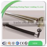 chromed/rubber banana roll for paper rewinder machine