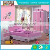 Living room velet bed, queen size pink bed, bedroom furniture sets
