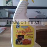 Biodegradable all purpose cleaner Non-Greasy improved cleaning action