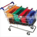 Foldable trolley shopping bags wholesale, shopping trolley/folding shopping cart/shopping trolley bag high quality supermarket