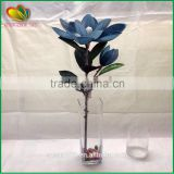 2016 factory wholesale artificial flower plastic artificial orchid flower indoor decor artificial flower