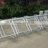 ISO9001 certified bike/bicycle standing rack/bicycle storage rack
