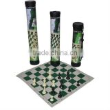 43*43cm Top Quality Plastic Chess Set with Promotions