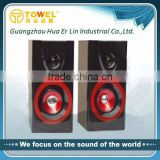 Wooden 2.0CH Home Theater Speaker System Surround Sound Powered Speaker Surround Sound Amplifier