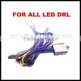 LED Daytime Running Lights Relay Cable Auto LED DRL socket Auto Car LED DRL Controller LED DRL Relay harness