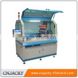 CNJ-Full Auto RFID contactless chip inlay Bonding Machine