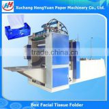 Box Drawing Facial Tissue Machine , One Lane Napkin Machine