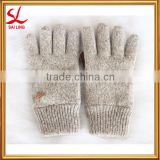 Outdoor Research Ragg Wool Gloves Winter Ski Knitted Thinsulate Thermal Warm Gloves With PU Leather Palm