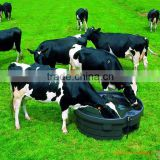plastic livestock cattle water feed trough sale