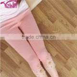 2015 Our Yizina Factory Plain Cotton Lace Leggings