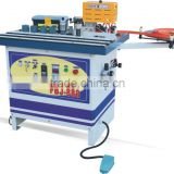 FBJ-888 EVOK new type hand manual double-face gluing curve & straight pvc edge banding machine
