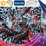 Polyester 50D/ 75D/ 100D bohemian print fabric for China direct factory