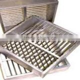Handmade stainless steel coal sample sievesFor removal of stones and debris from soil