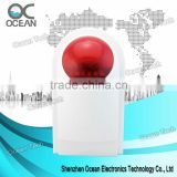 Fire Siren with Strobe, Waterproof, NC/NO Relay, Anti-tamper Function, 7.2V Battery, 12V Adapter
